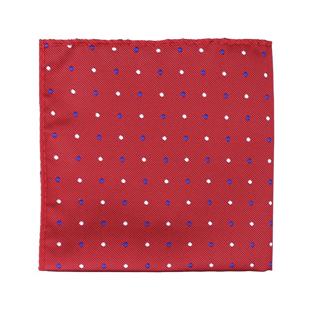 pañuelo topos rojo
