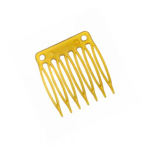peina 3 cm 7 púas oro