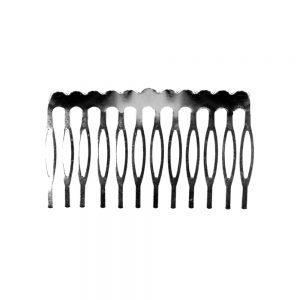 peina metal 12 dientes