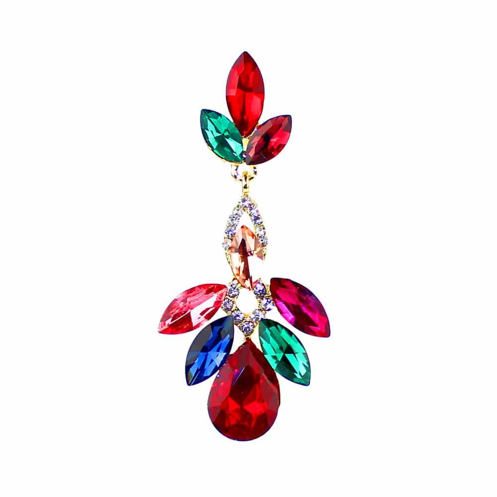 pendientes virginia multicolor