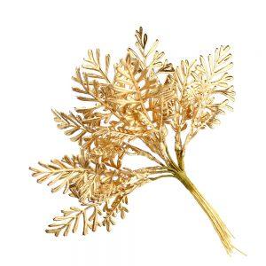 ramas metalizadas oro