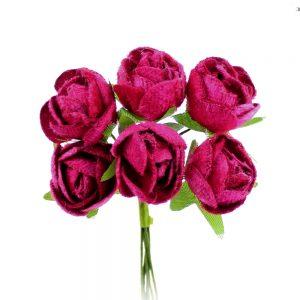 ramillete 6 rosas antelina buganvilla
