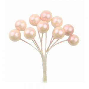 ramillete bolas grande rosa nude