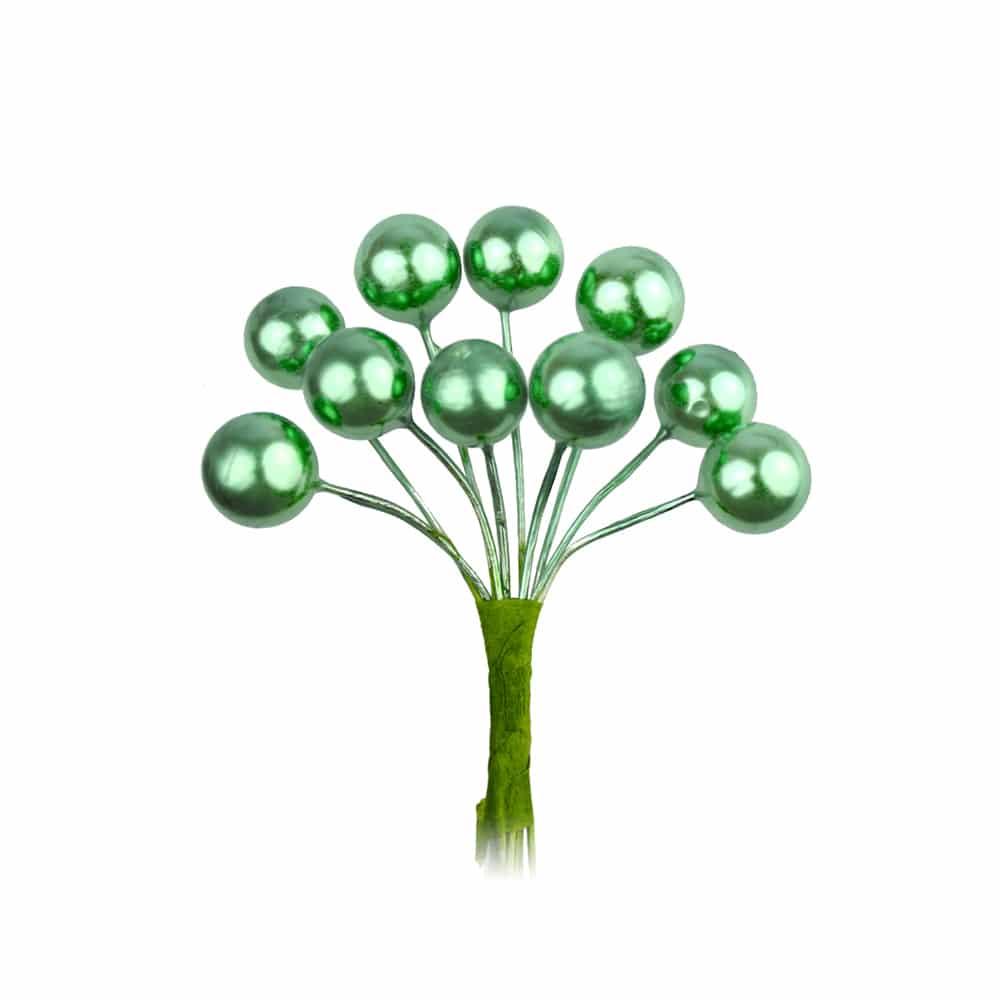 ramillete bolas pequeño verde jungla