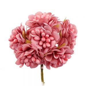 ramillete granadella rosa maquillaje