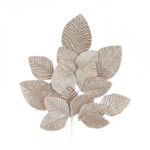 ramillete hojas dafne beige