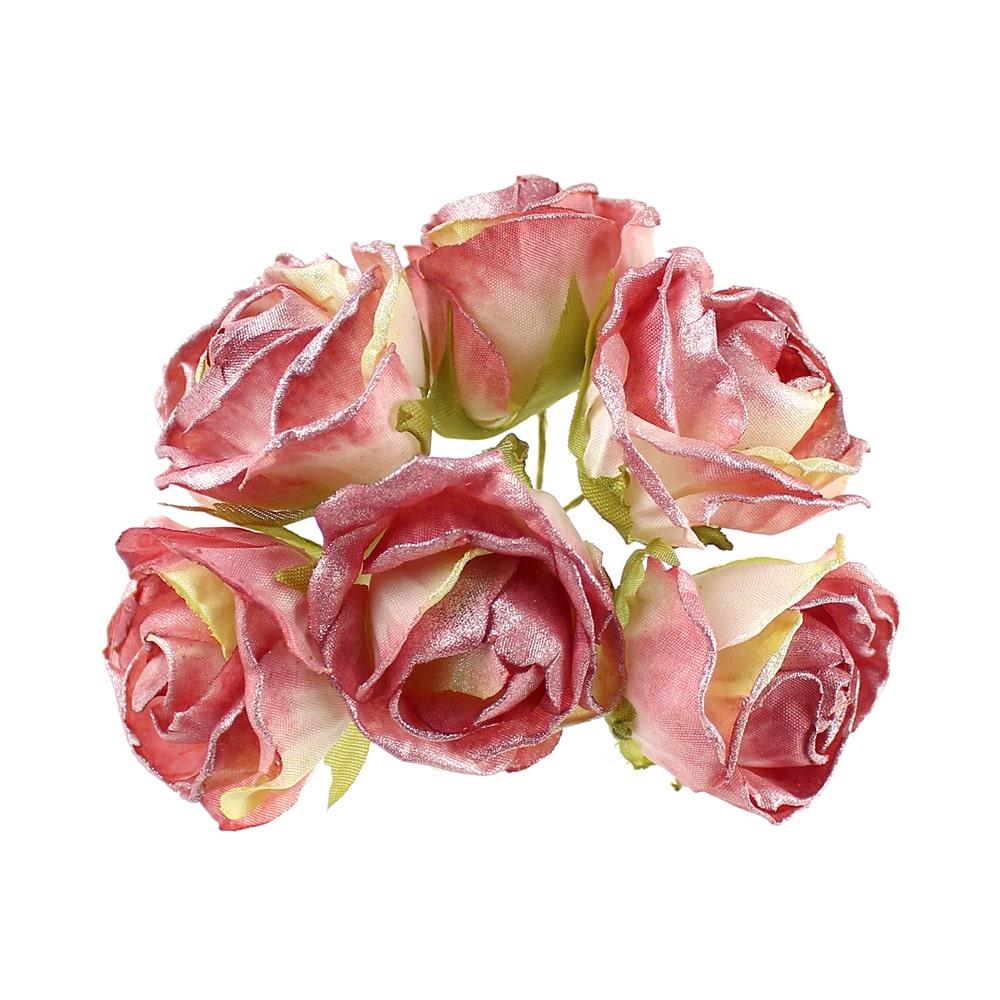 ramillete juno rosa vintage