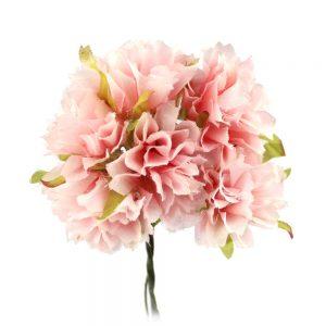 ramillete zinnia 4 cm rosa