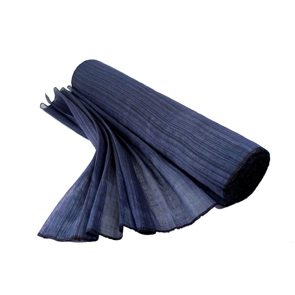 sinamay seda 60 cm perfecto azul marino