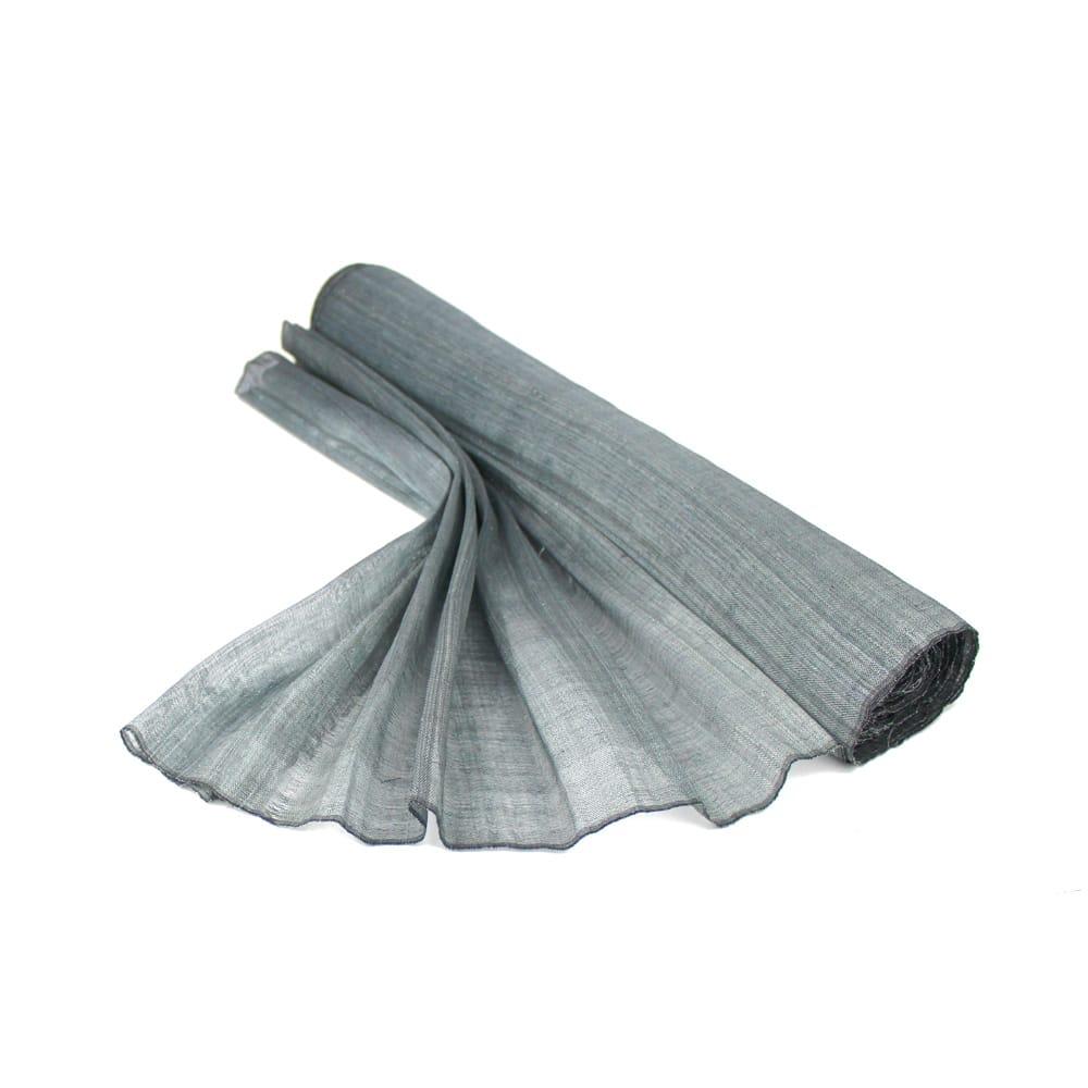 sinamay seda 60 cm perfecto gris plata