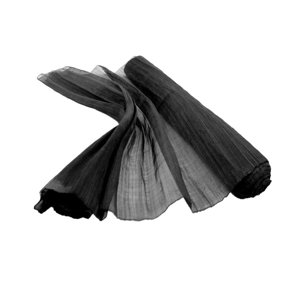sinamay seda 60 cm perfecto negro