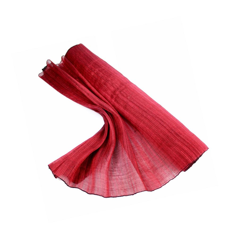 sinamay seda 60 cm perfecto rojo cereza