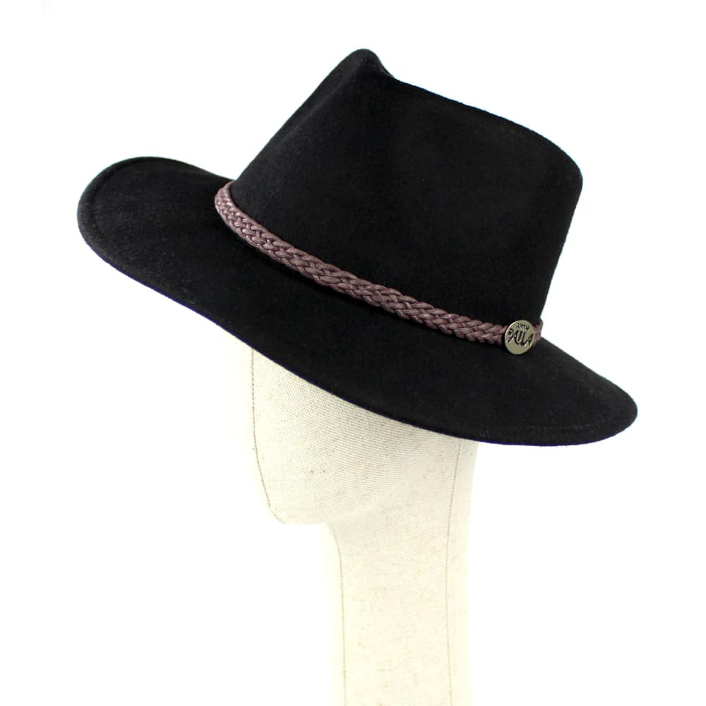 sombrero linnet negro