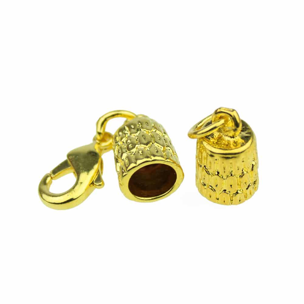 terminacion cordon 6 mm oro
