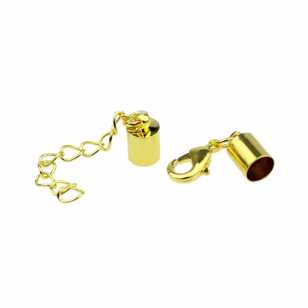 terminacion cordon seda 5 mm oro