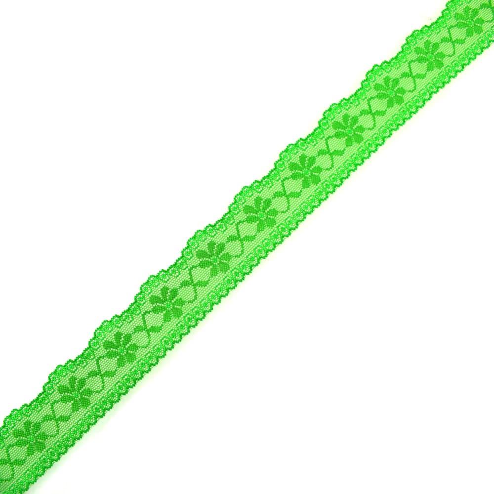 tira elastica nylon 3 cm pistacho