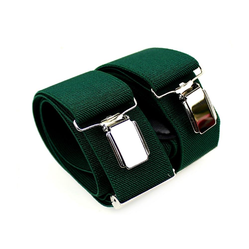 tirantes lisos verde