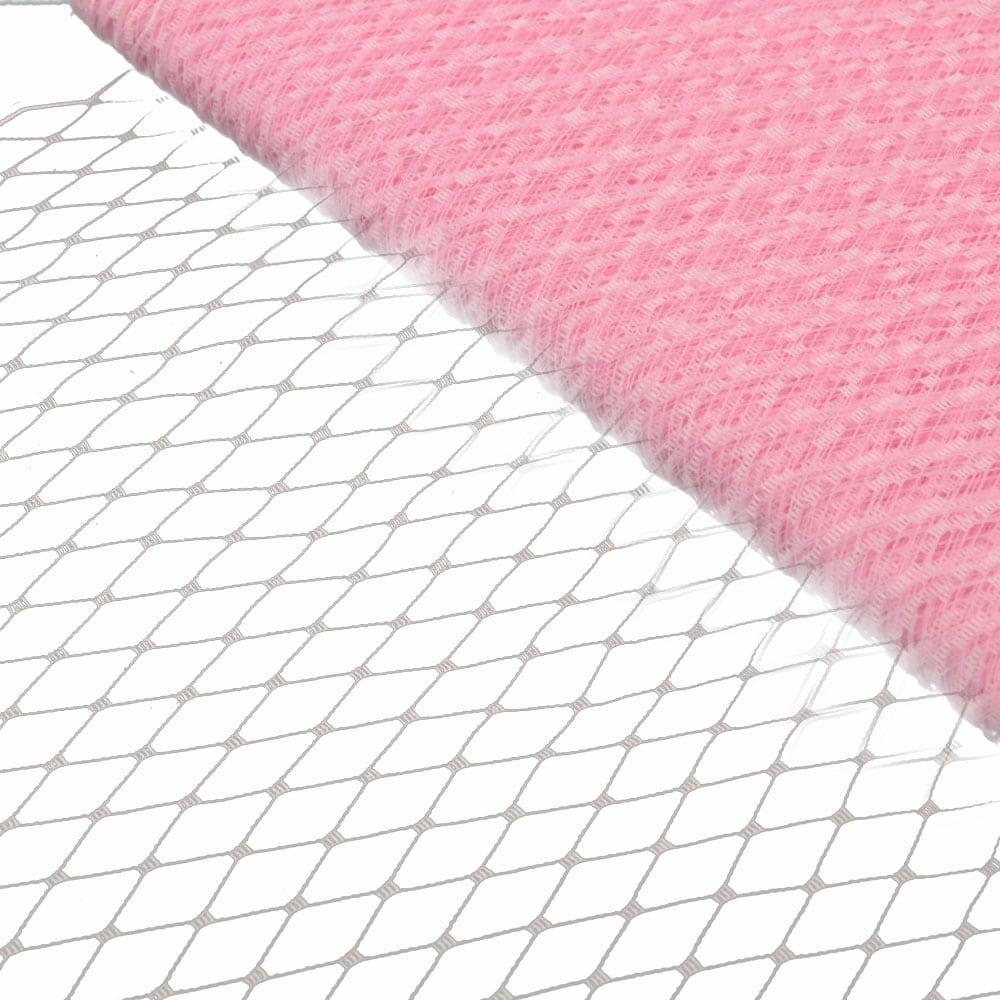 velo liso 23 cm rosa