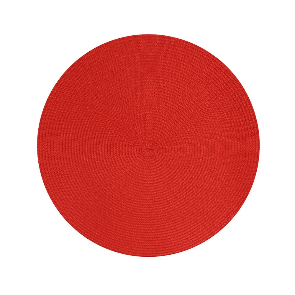 Base Polipropileno 30 cm rojo