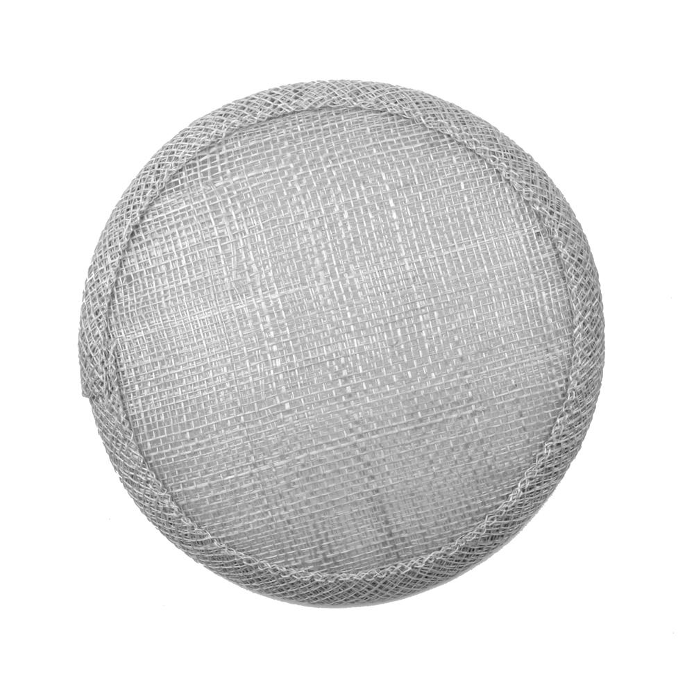 Base circular 11 cm gris plata