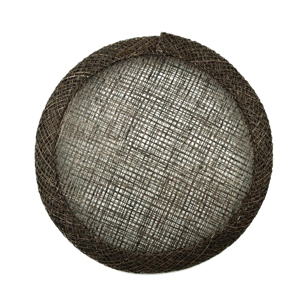 Base circular 11 cm marrón oscuro