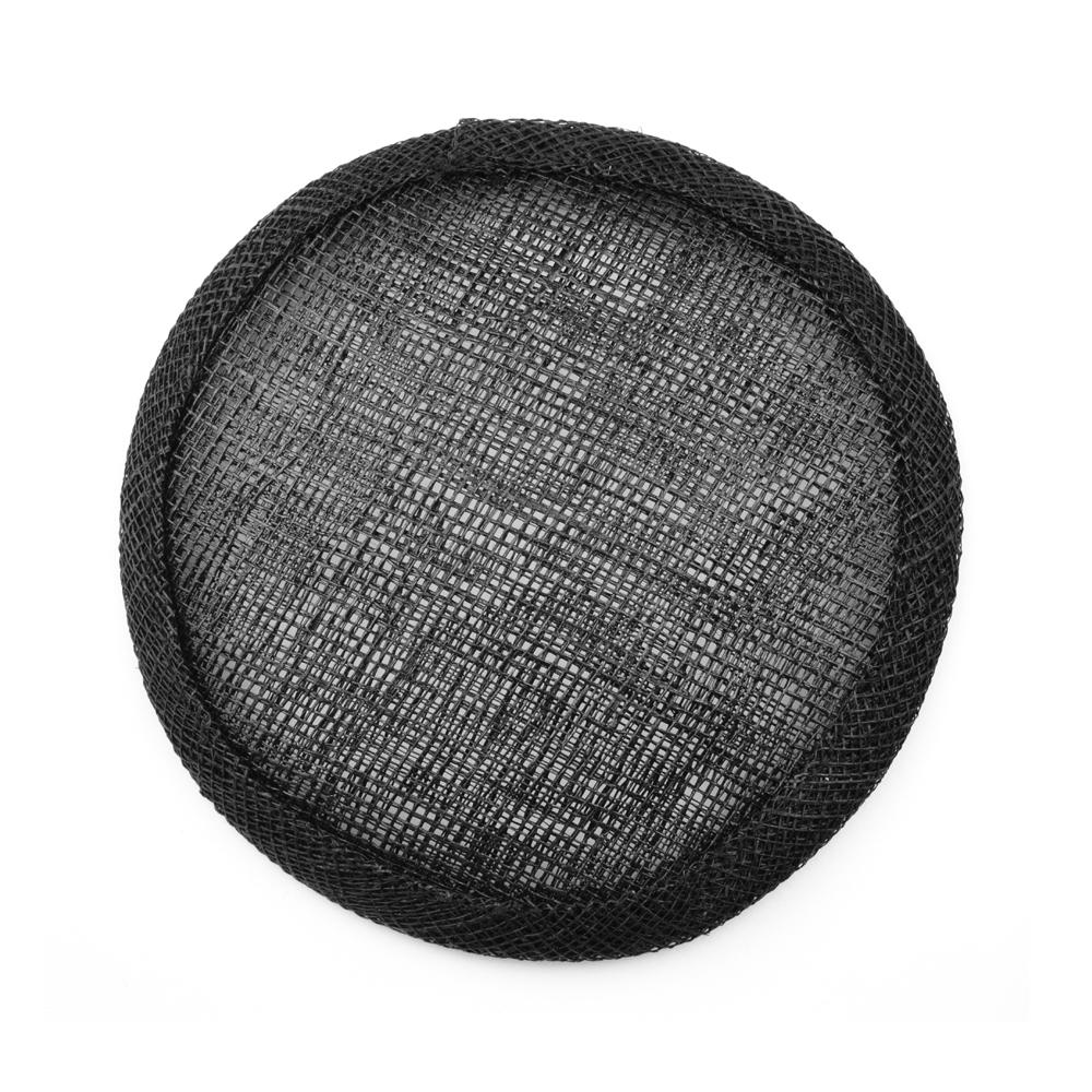 Base circular 11 cm negro