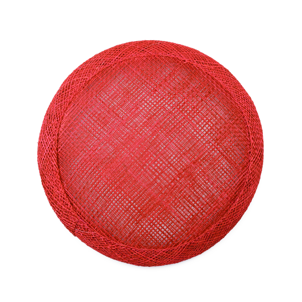 Base circular 11 cm rojo