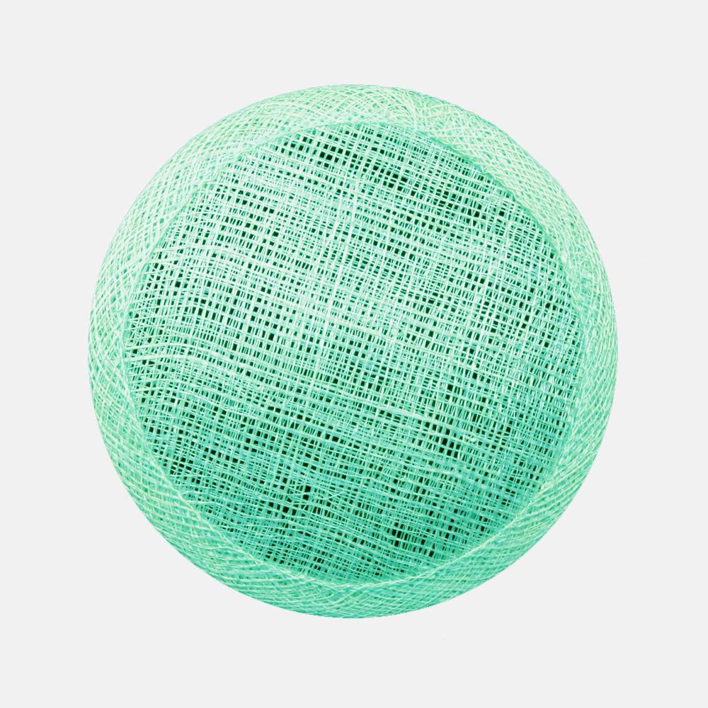 Base circular 11 cm verde menta