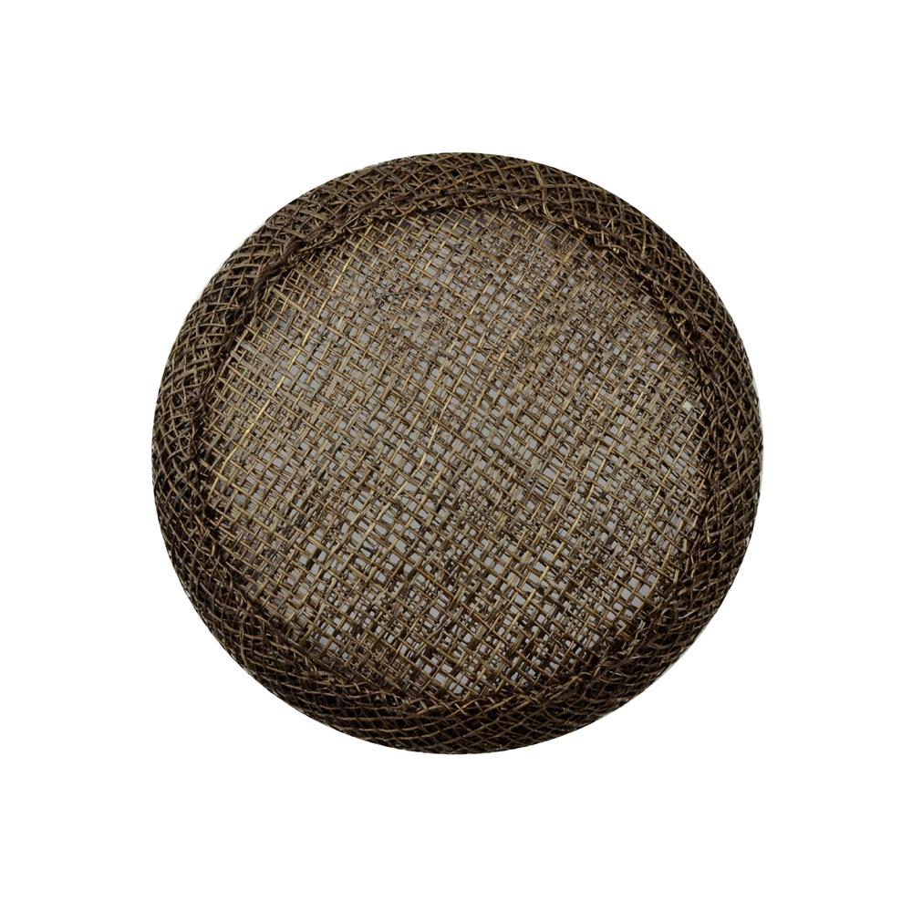 Base circular 7 cm marrón
