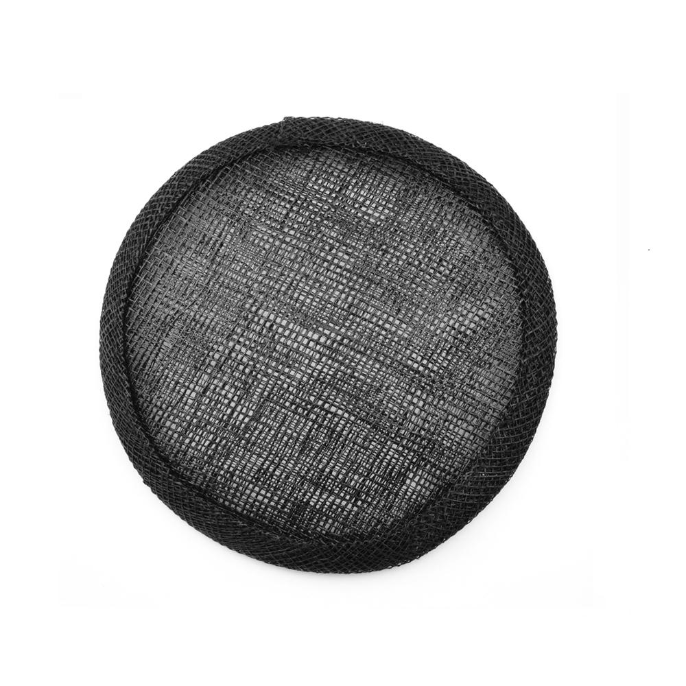 Base circular 7 cm negro