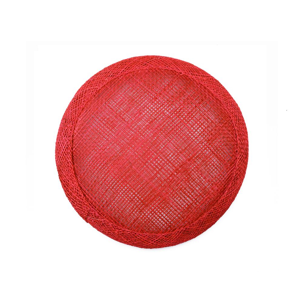 Base circular 7 cm rojo