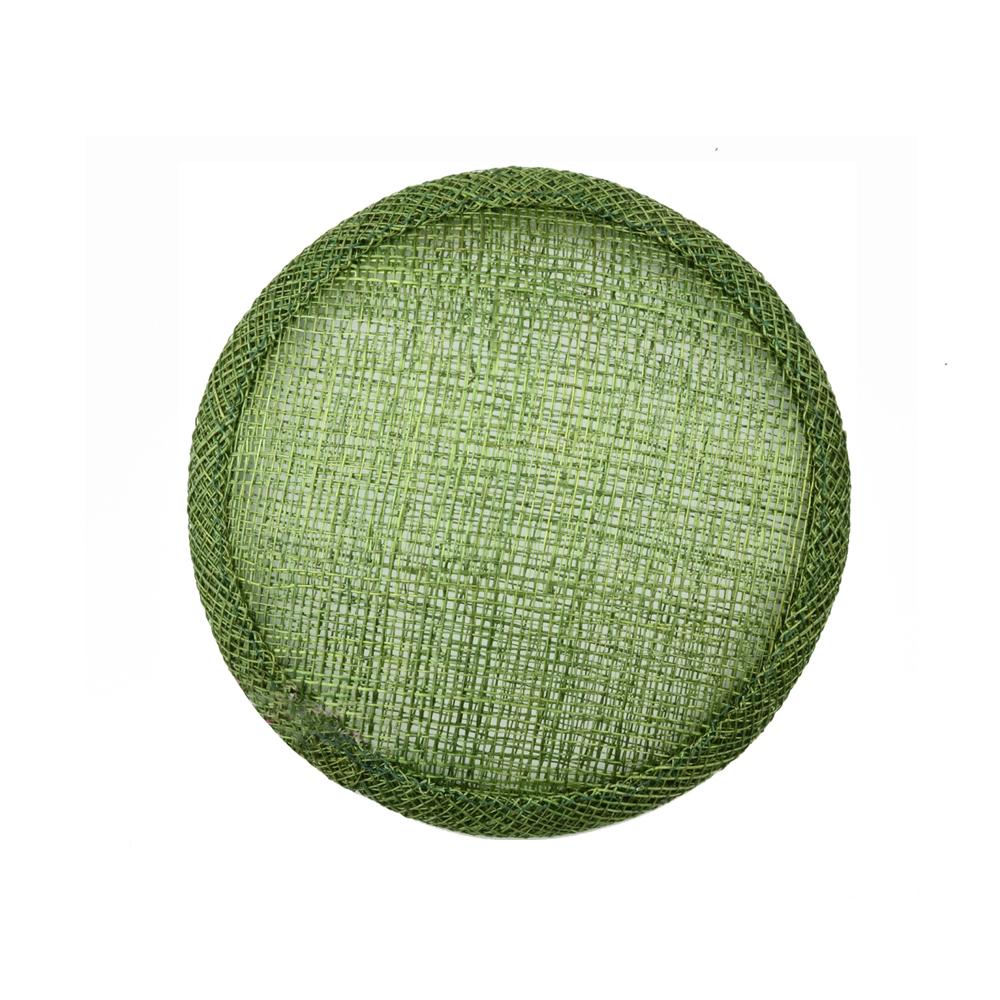 Base circular 7 cm verde oliva