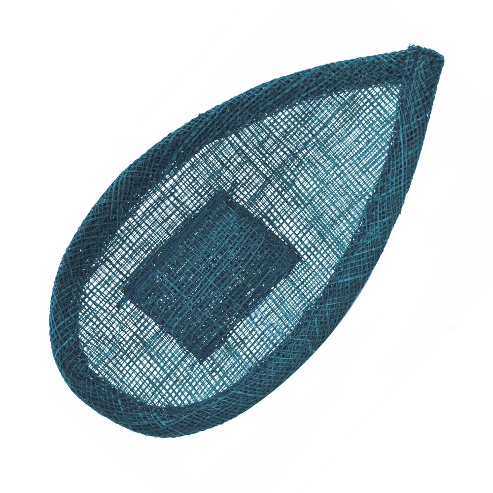 Base lágrima con soporte azul marino