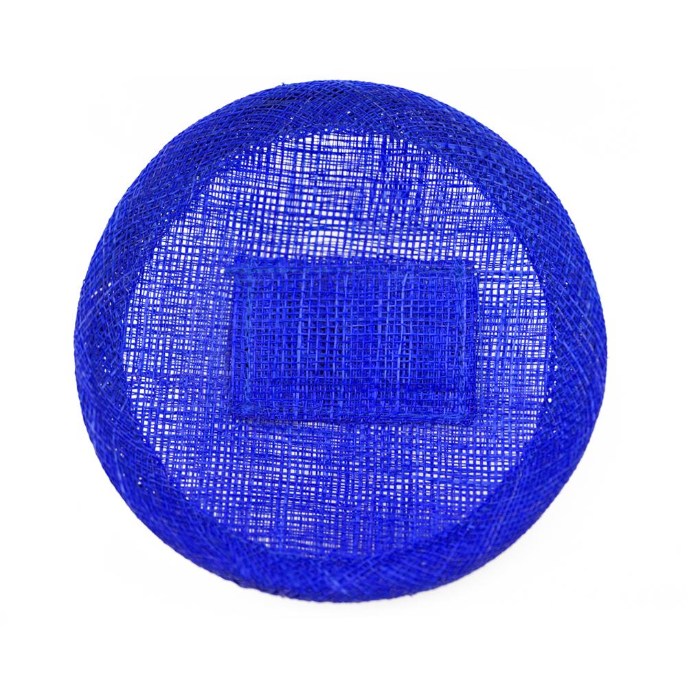 Base sinamay 11 cm con soporte azul klein