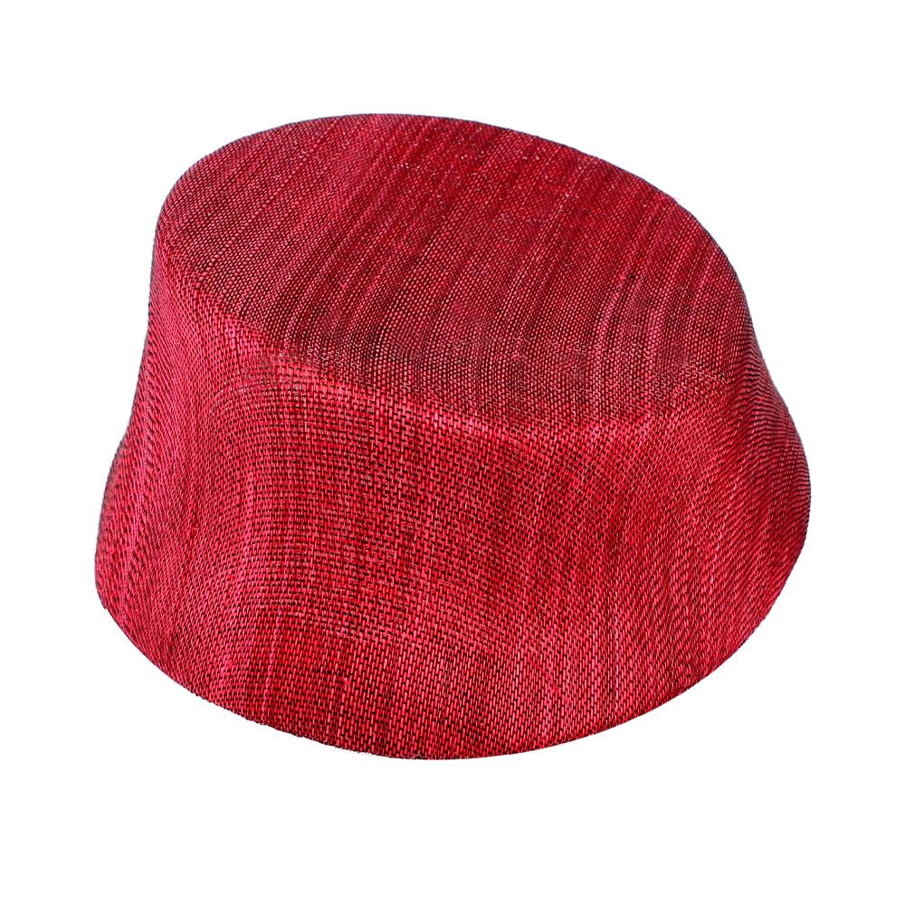 Casquete París Seda rojo