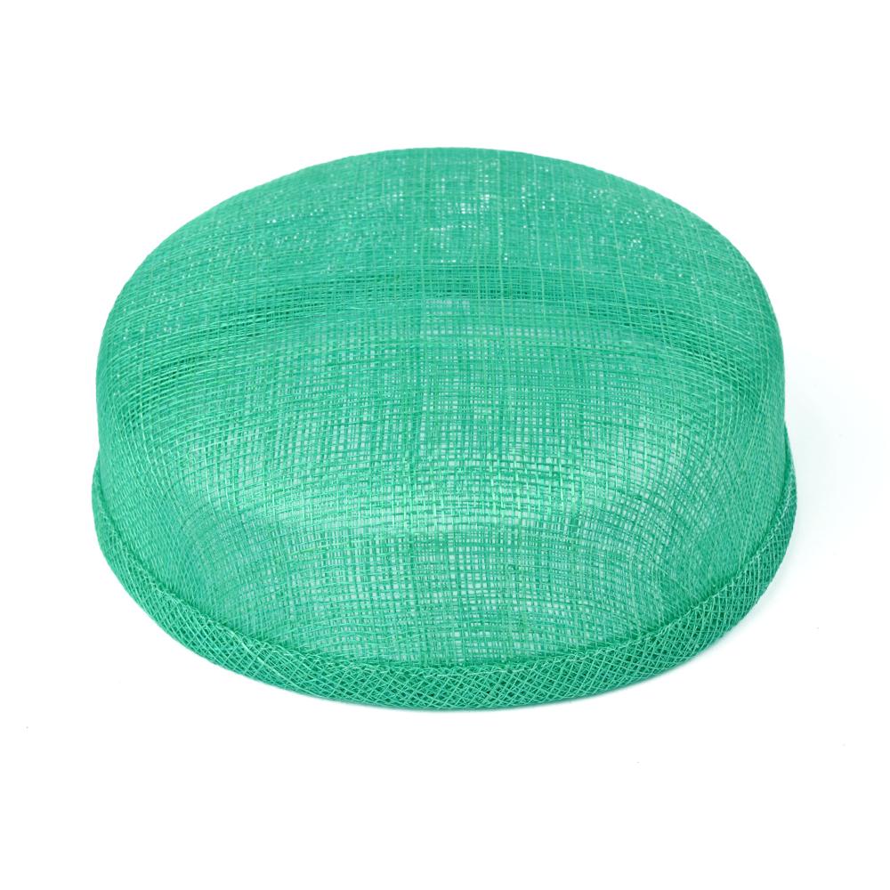 Casquete sinamay 18x16x5 cm jade