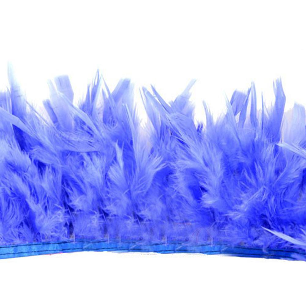 Fleco de boas azul medio
