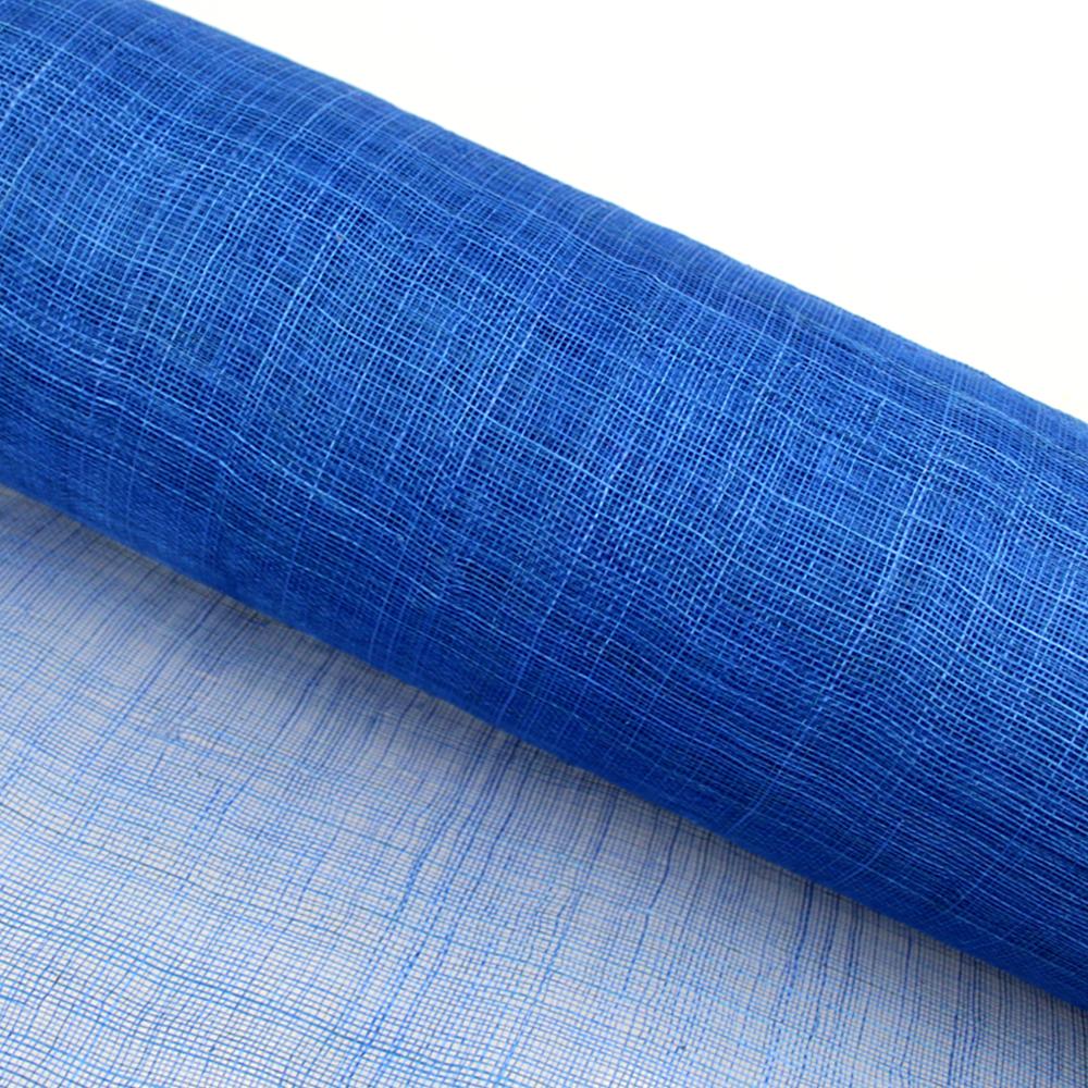 Sinamay 90 cm 1 calidad (21×21 DPI) azul klein