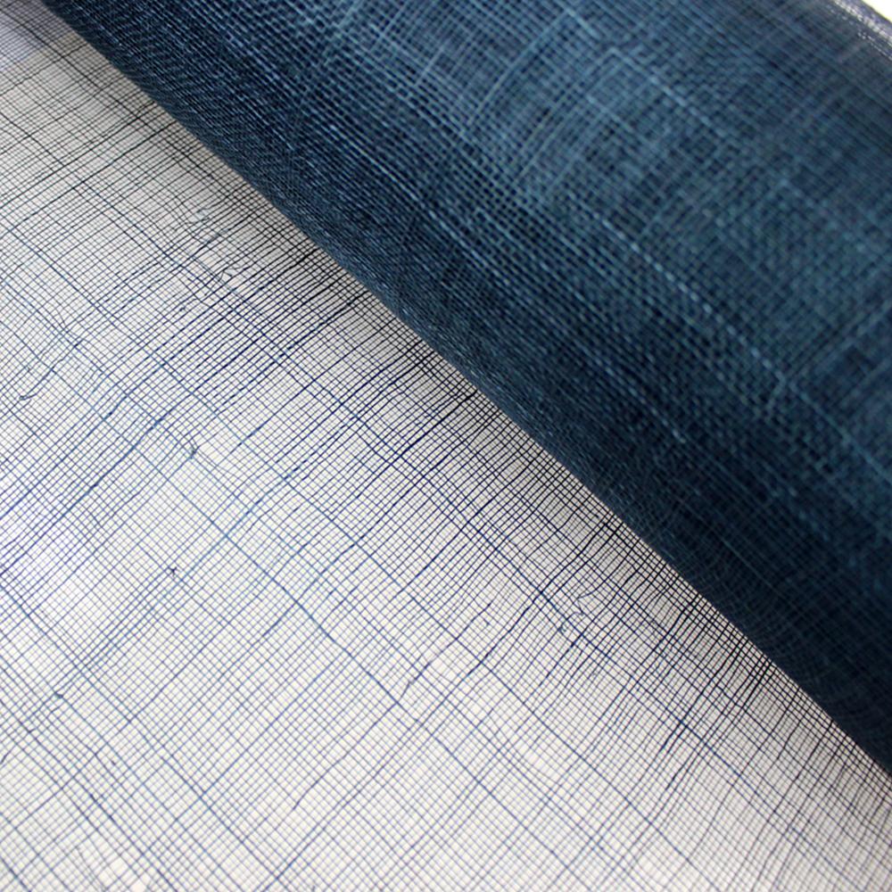 Sinamay 90 cm 1 calidad (21×21 DPI) azul marino