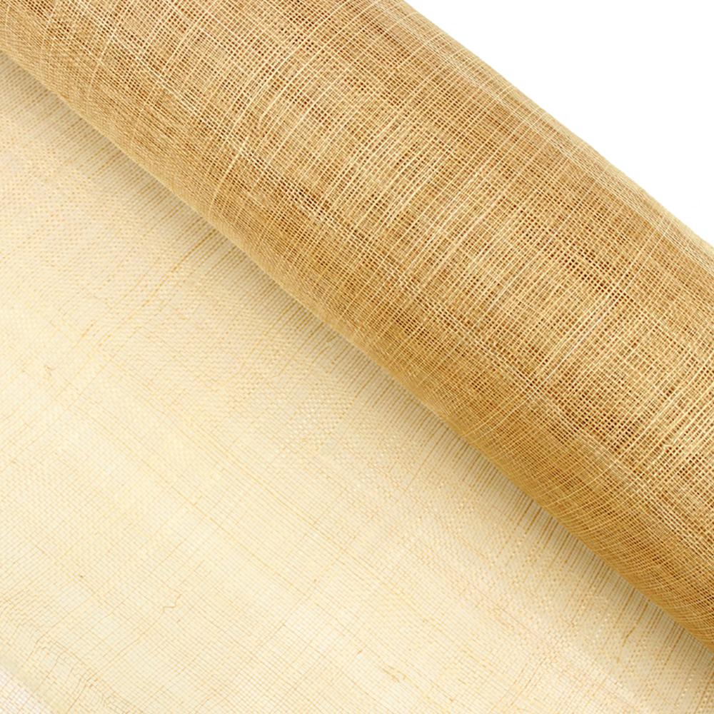 Sinamay 90 cm 1 calidad (21×21 DPI) dorado