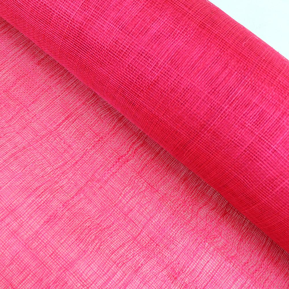 Sinamay 90 cm 1 calidad (21×21 DPI) fucsia