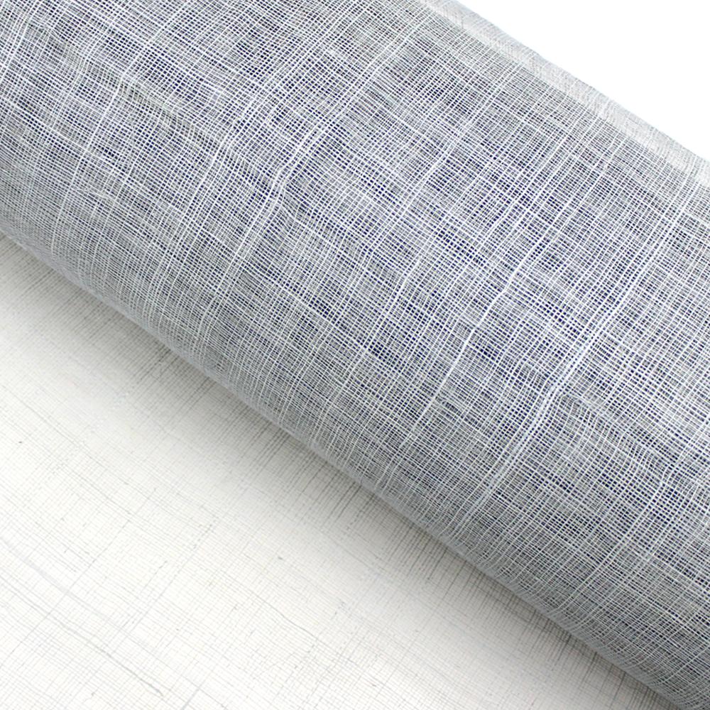 Sinamay 90 cm 1 calidad (21×21 DPI) gris plata
