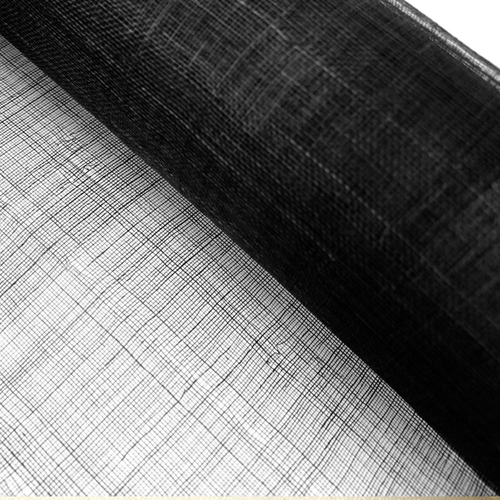 Sinamay 90 cm 1 calidad (21×21 DPI) negro