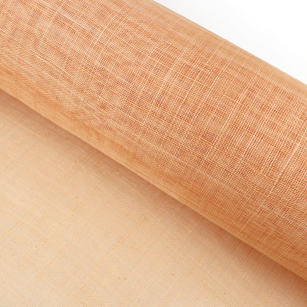 Sinamay 90 cm 1 calidad (21×21 DPI) salmón