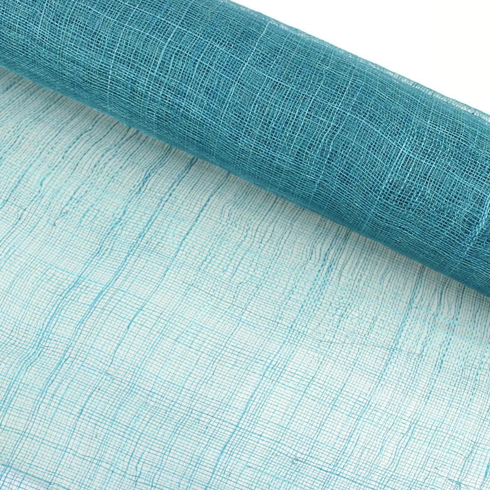 Sinamay 90 cm 1 calidad (21×21 DPI) turquesa
