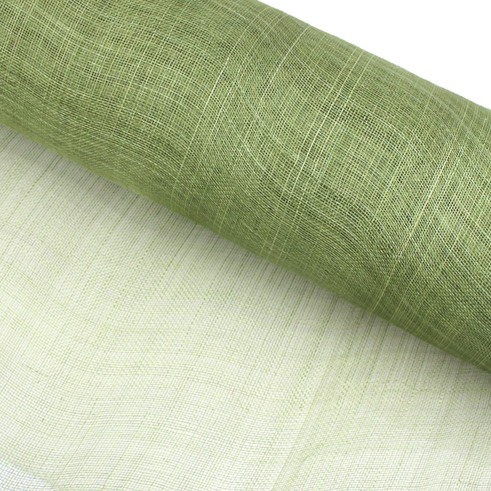 Sinamay 90 cm 1 calidad (21×21 DPI) verde medio