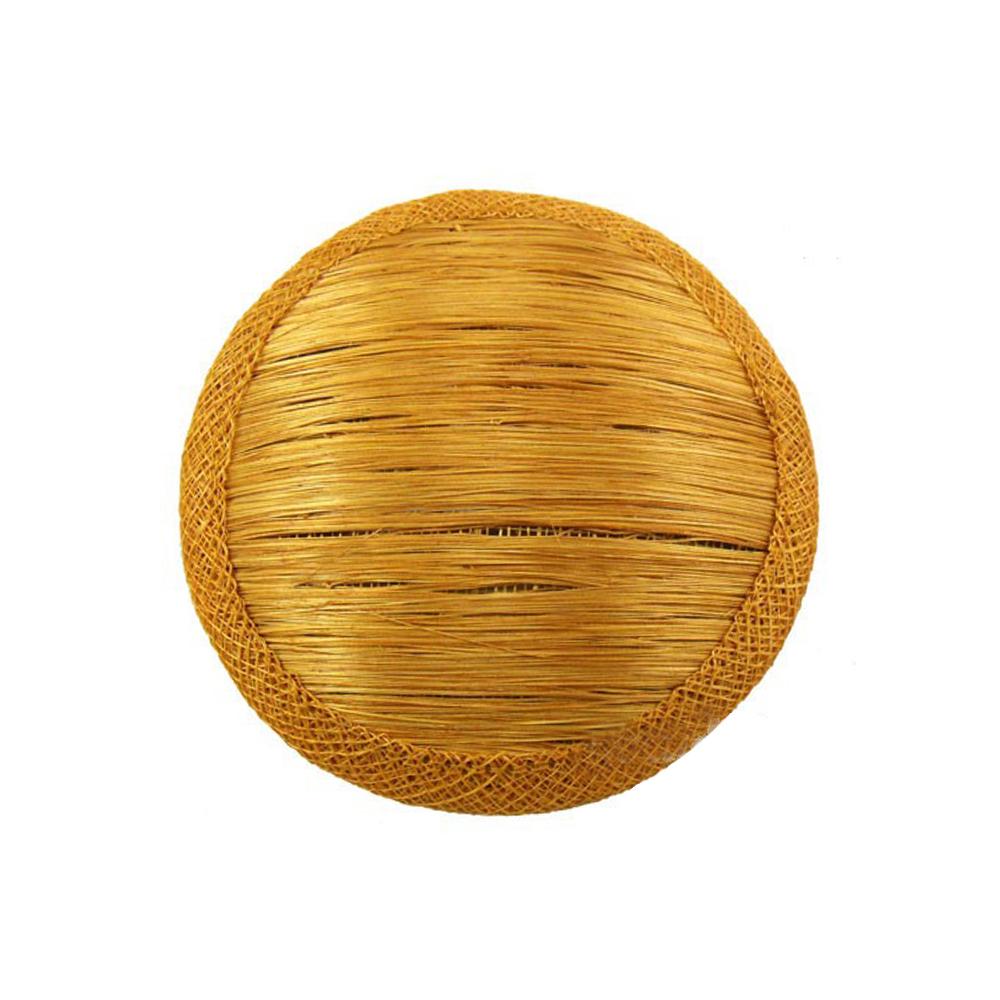 Base 11 cm de Abacá dorado