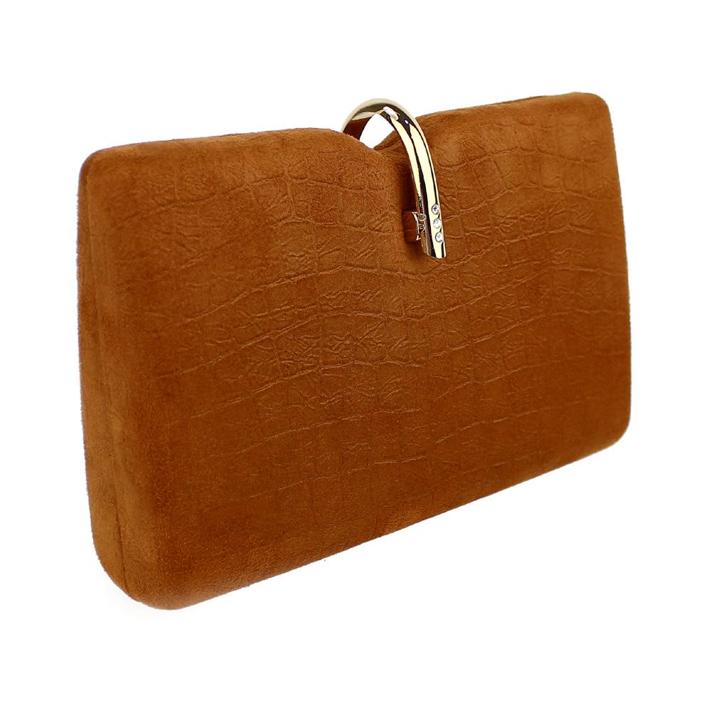 Bolso Matisse marrón teja
