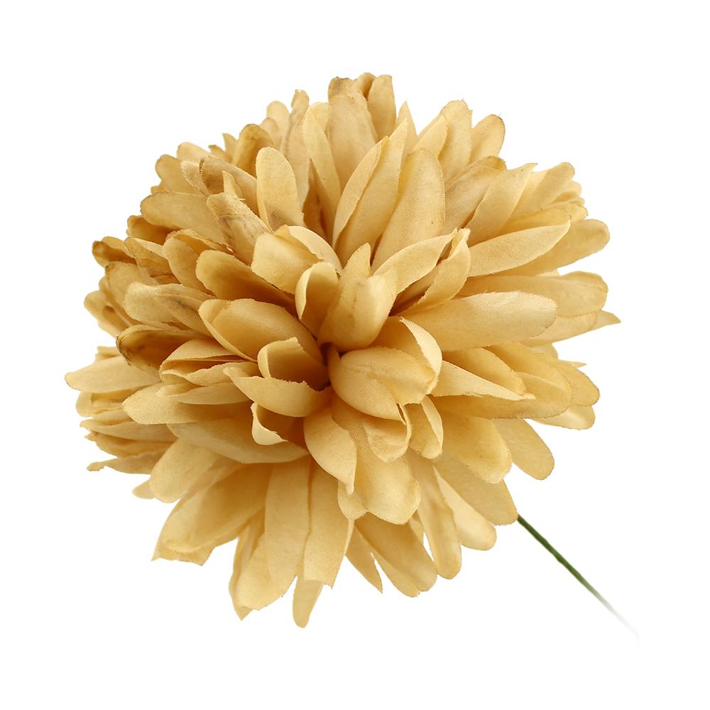 Flor Elsa 12 cm dorado