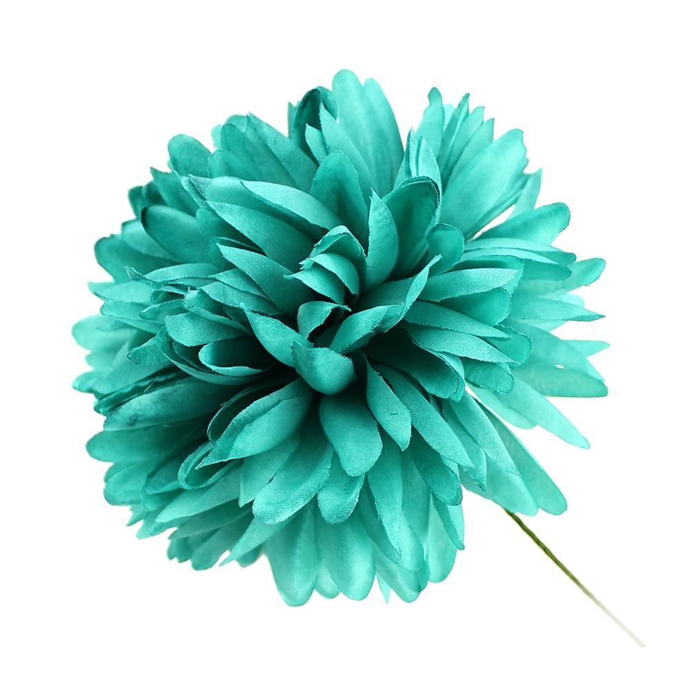 Flor Elsa 12 cm verde mar